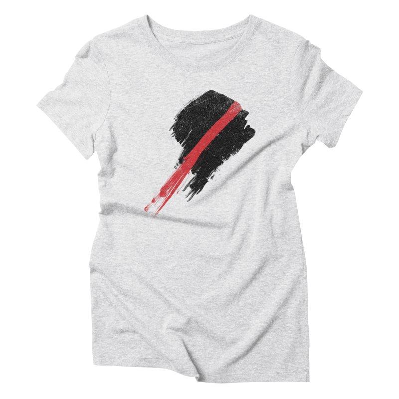 SCREAM Women's Triblend T-Shirt by ISMAILKOCABAS's Artist Shop