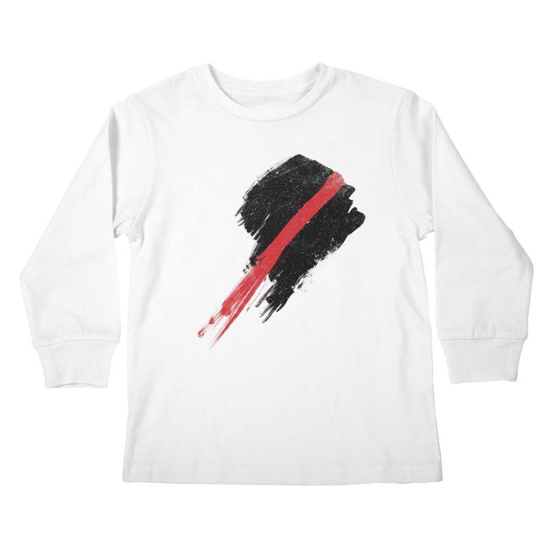 SCREAM Kids Longsleeve T-Shirt by ISMAILKOCABAS's Artist Shop