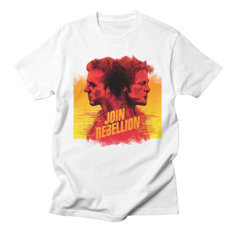 JOIN REBELLION Men's T-Shirt by ISMAILKOCABAS's Artist Shop
