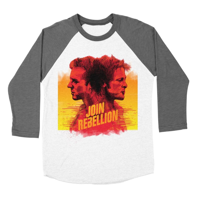 JOIN REBELLION Men's Baseball Triblend T-Shirt by ISMAILKOCABAS's Artist Shop