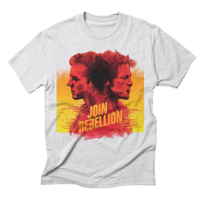 JOIN REBELLION Men's Triblend T-shirt by ISMAILKOCABAS's Artist Shop