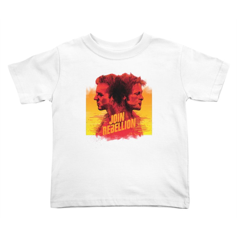 JOIN REBELLION Kids Toddler T-Shirt by ISMAILKOCABAS's Artist Shop