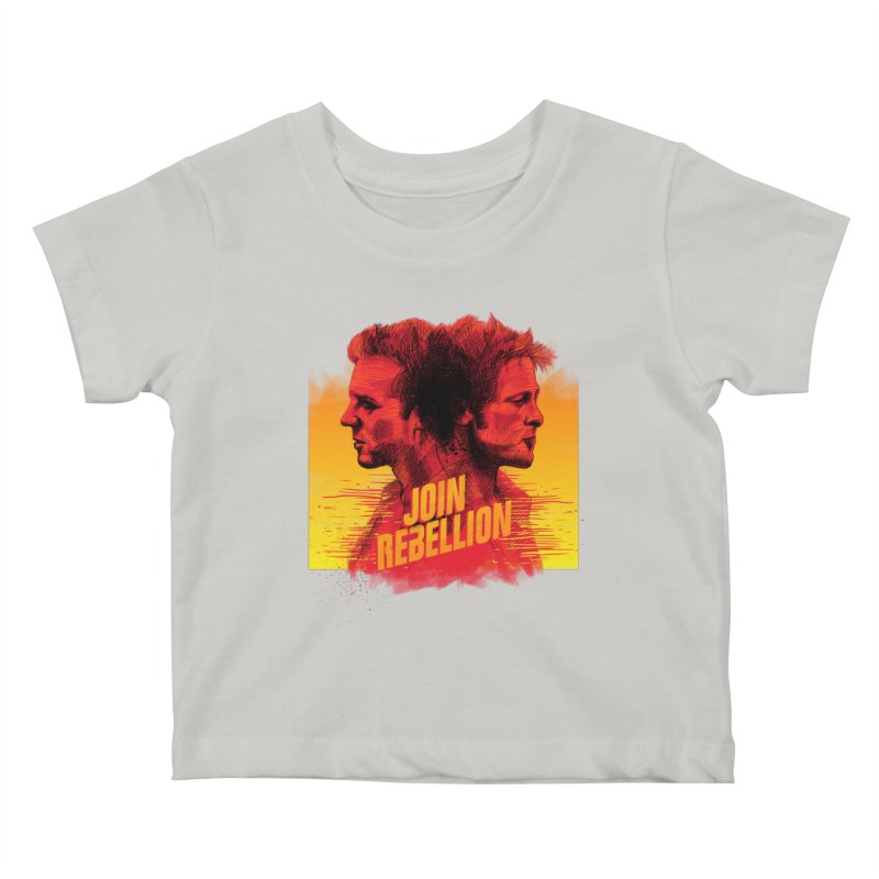 JOIN REBELLION Kids Baby T-Shirt by ISMAILKOCABAS's Artist Shop