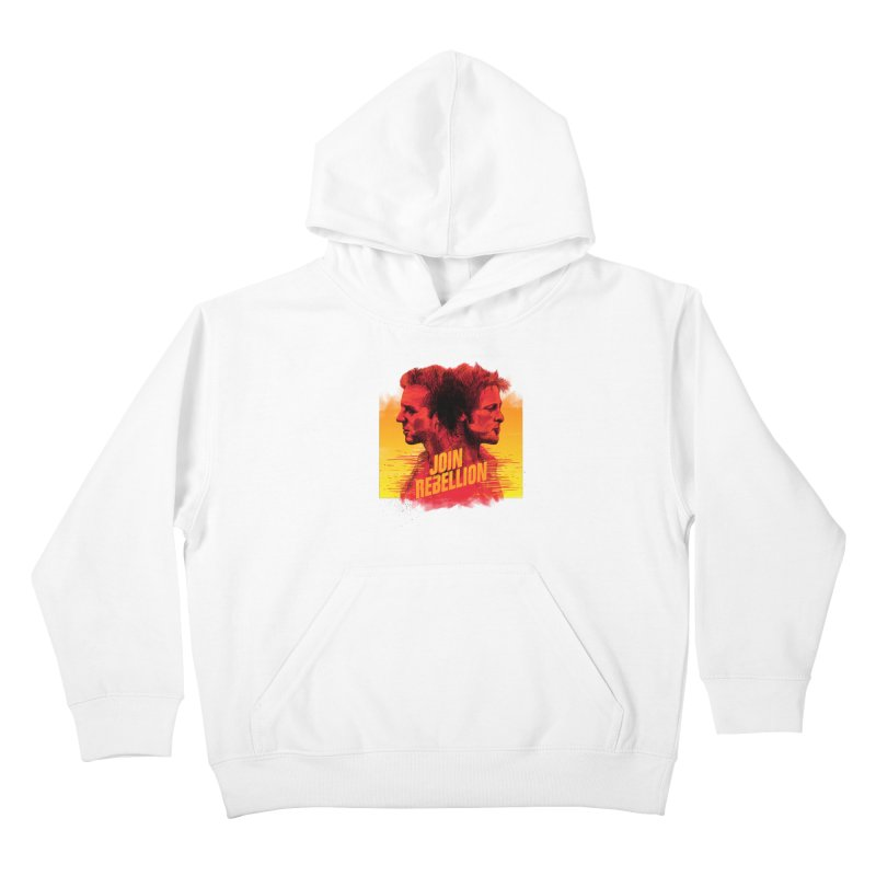 JOIN REBELLION Kids Pullover Hoody by ISMAILKOCABAS's Artist Shop