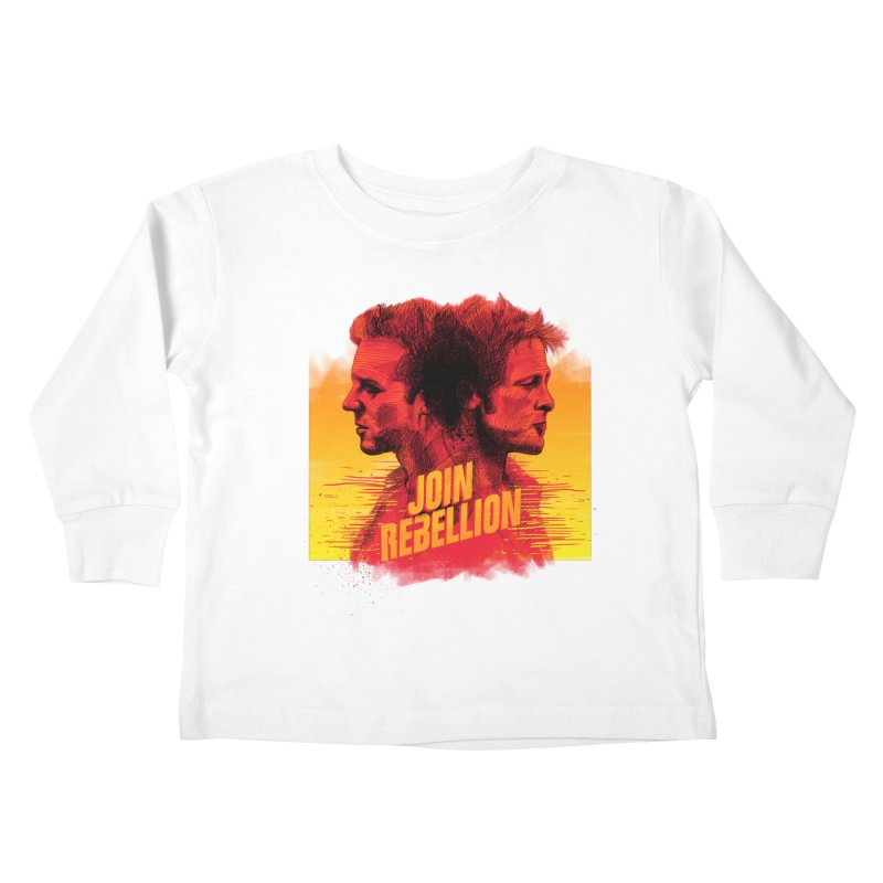 JOIN REBELLION Kids Toddler Longsleeve T-Shirt by ISMAILKOCABAS's Artist Shop