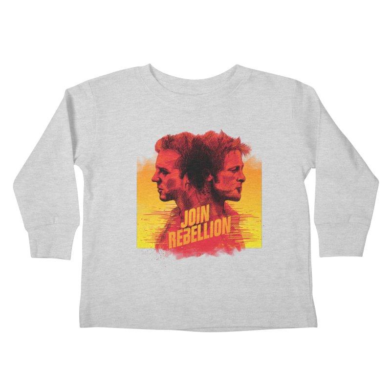 JOIN REBELLION Kids Toddler Longsleeve T-Shirt by ISMAILKOCABAS's Artist Shop