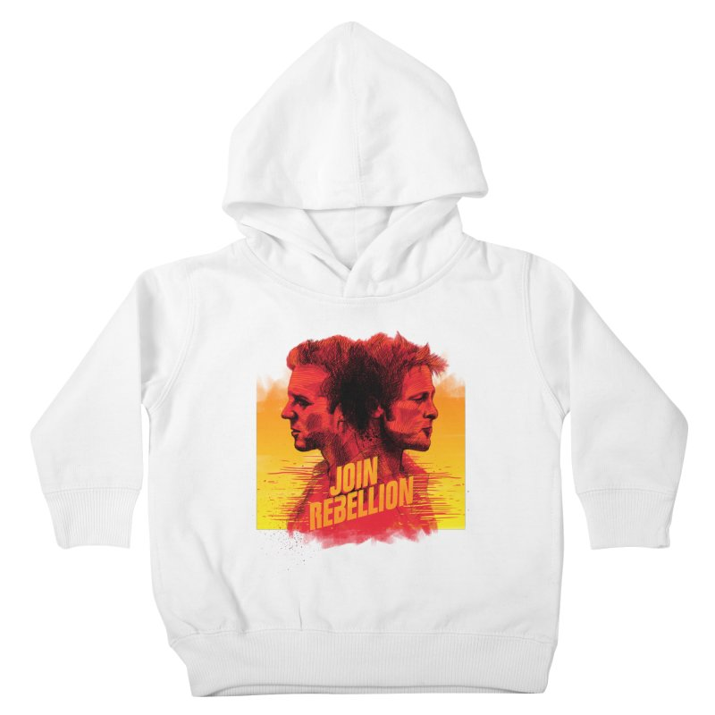 JOIN REBELLION Kids Toddler Pullover Hoody by ISMAILKOCABAS's Artist Shop