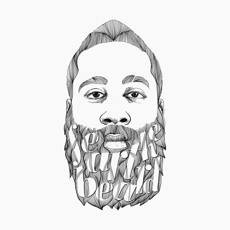 FEAR THE BEARD None  by ISMAILKOCABAS's Artist Shop