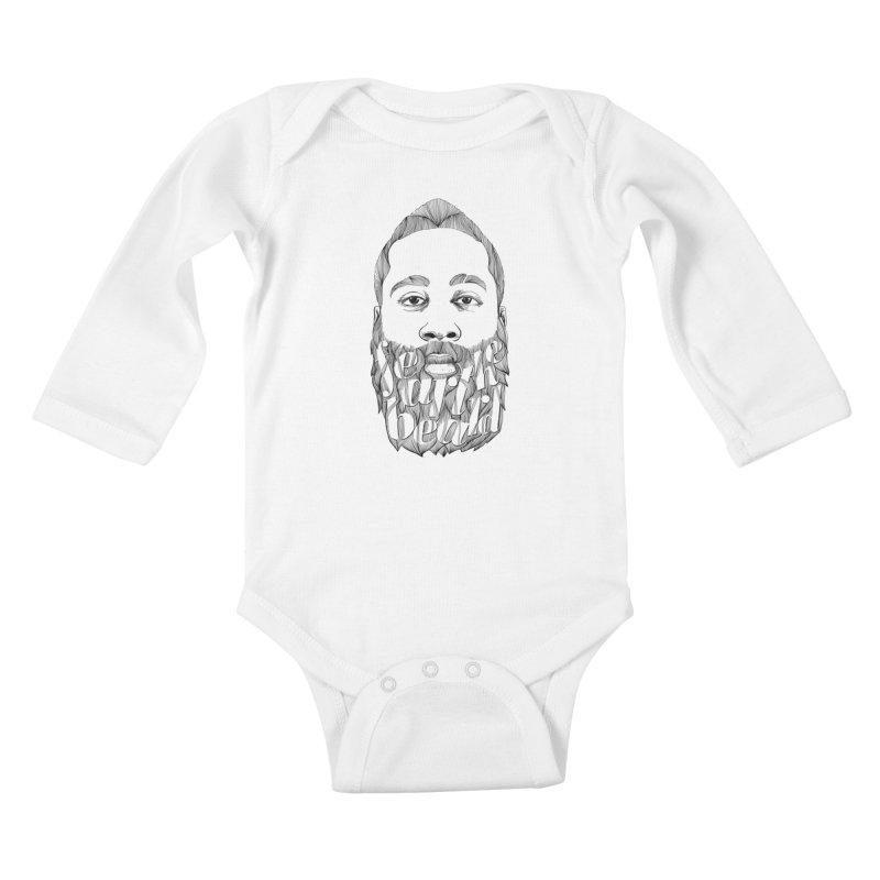FEAR THE BEARD Kids Baby Longsleeve Bodysuit by ISMAILKOCABAS's Artist Shop