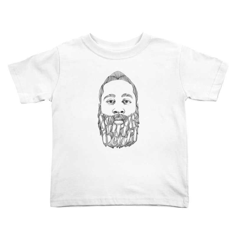 FEAR THE BEARD Kids Toddler T-Shirt by ISMAILKOCABAS's Artist Shop