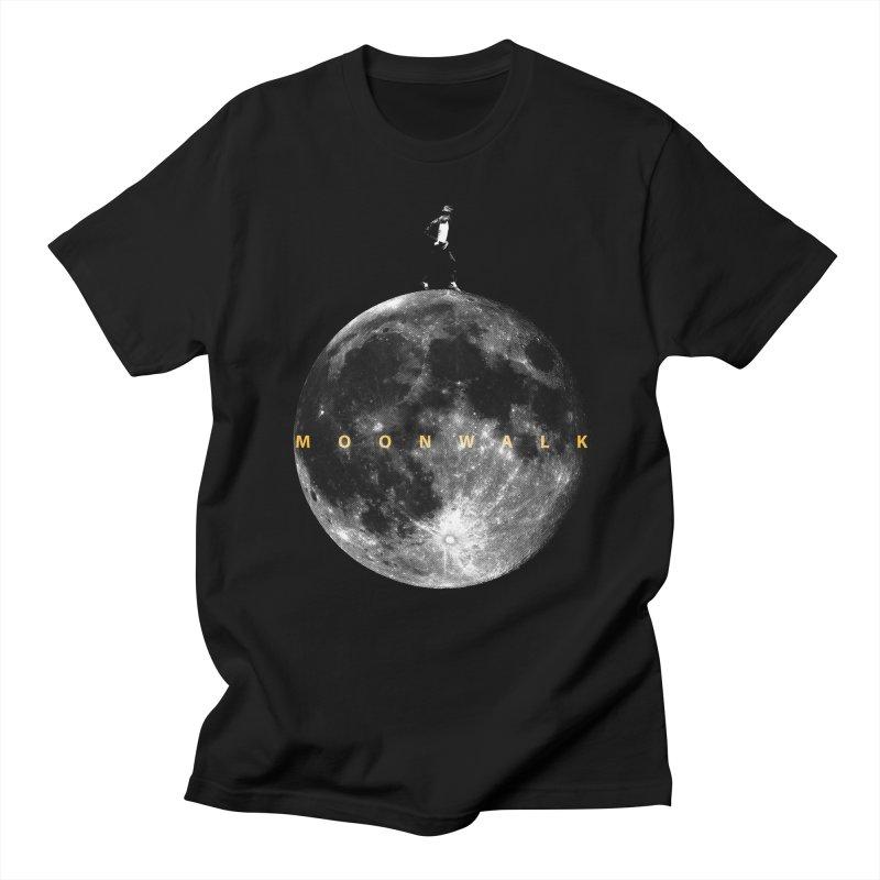 MOONWALK Men's T-Shirt by ISMAILKOCABAS's Artist Shop