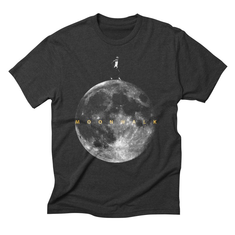 MOONWALK Men's Triblend T-Shirt by ISMAILKOCABAS's Artist Shop