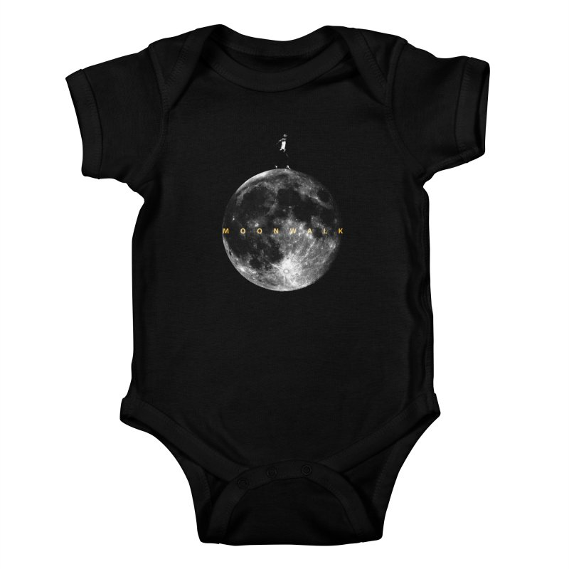 MOONWALK Kids Baby Bodysuit by ISMAILKOCABAS's Artist Shop