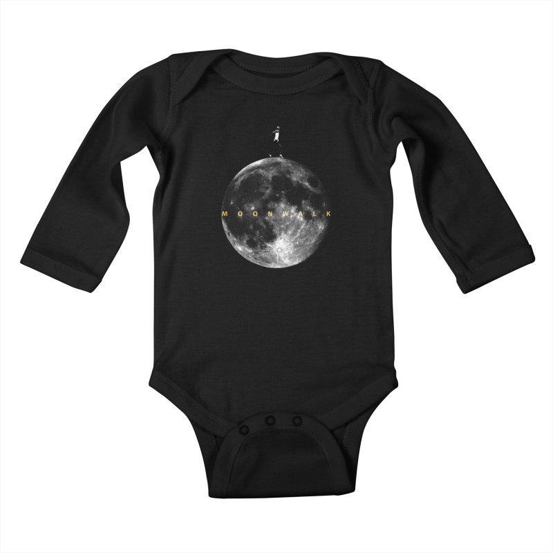 MOONWALK Kids Baby Longsleeve Bodysuit by ISMAILKOCABAS's Artist Shop