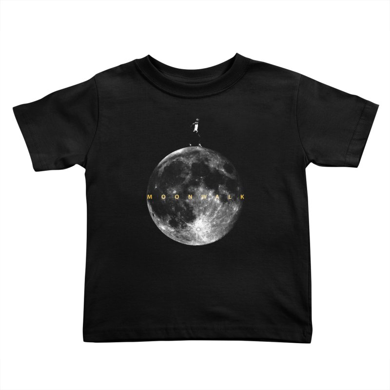 MOONWALK Kids Toddler T-Shirt by ISMAILKOCABAS's Artist Shop