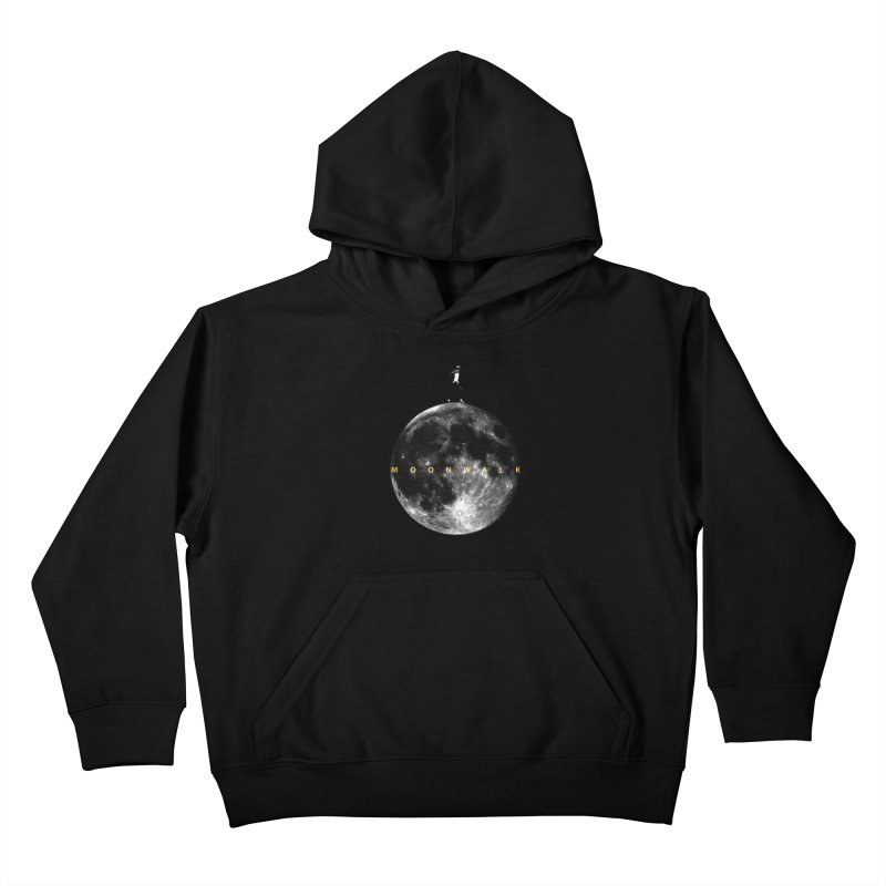 MOONWALK Kids Pullover Hoody by ISMAILKOCABAS's Artist Shop