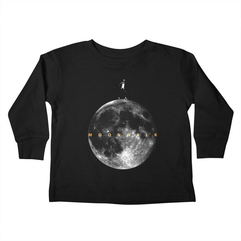MOONWALK Kids Toddler Longsleeve T-Shirt by ISMAILKOCABAS's Artist Shop