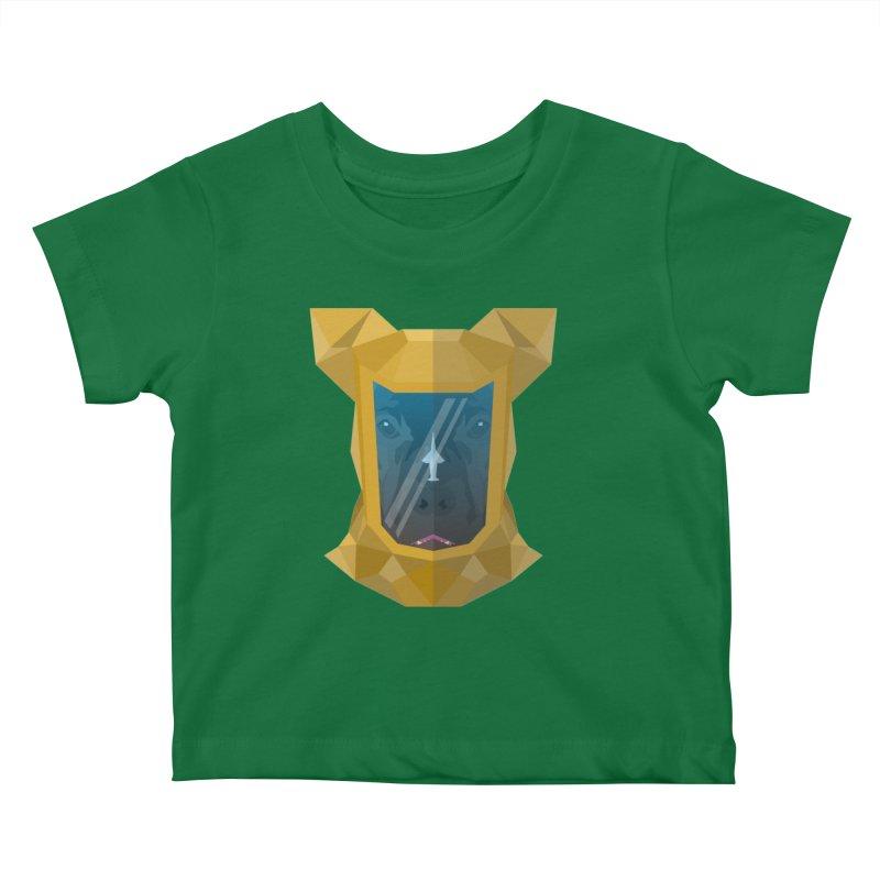 Quarantine Bulldog Kids Baby T-Shirt by IamIamI, UAreUareU?