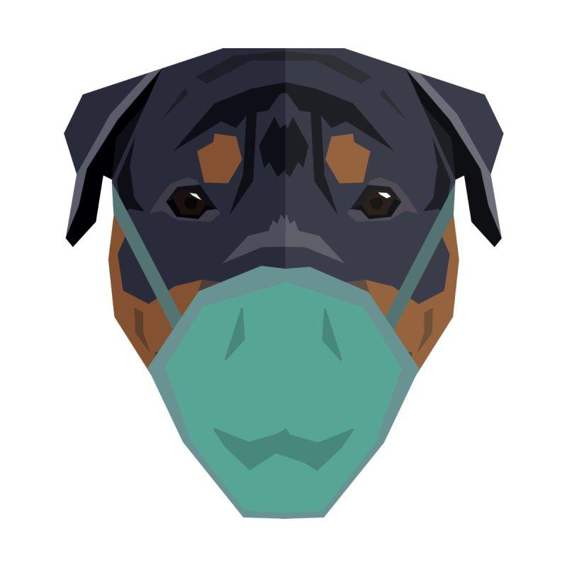 Quarantine Rottweiler Men's T-Shirt by IamIamI's Artist Shop