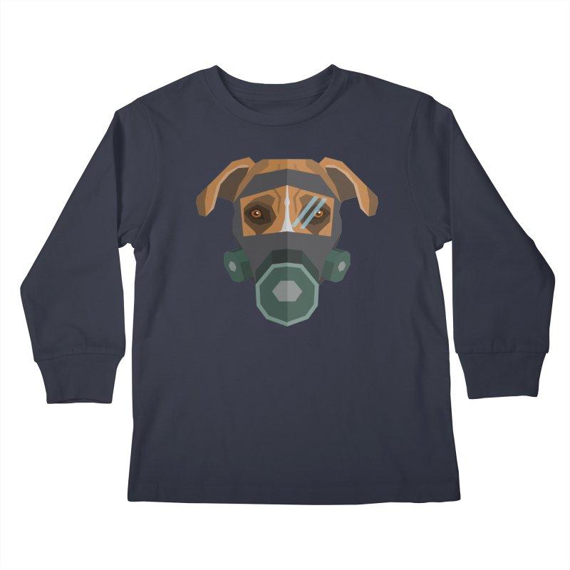 Quarantine Stafford Kids Longsleeve T-Shirt by IamIamI's Artist Shop