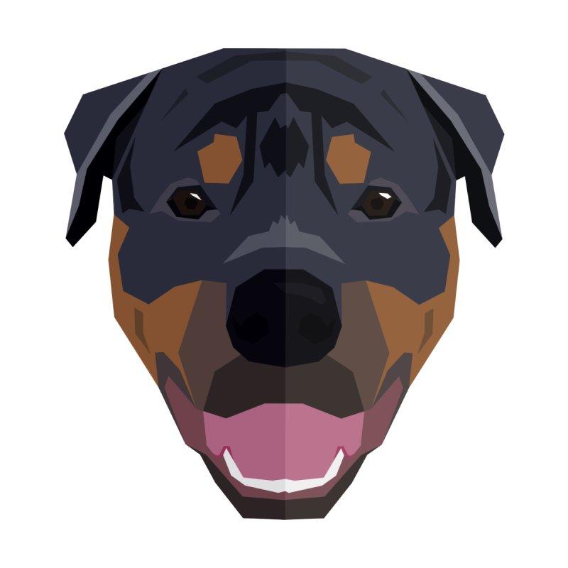 Doggoz Rottweiler Kids Longsleeve T-Shirt by IamIamI's Artist Shop