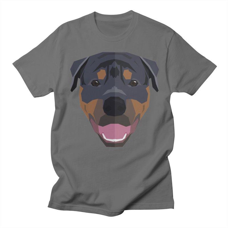 Doggoz Rottweiler Men's T-Shirt by IamIamI's Artist Shop