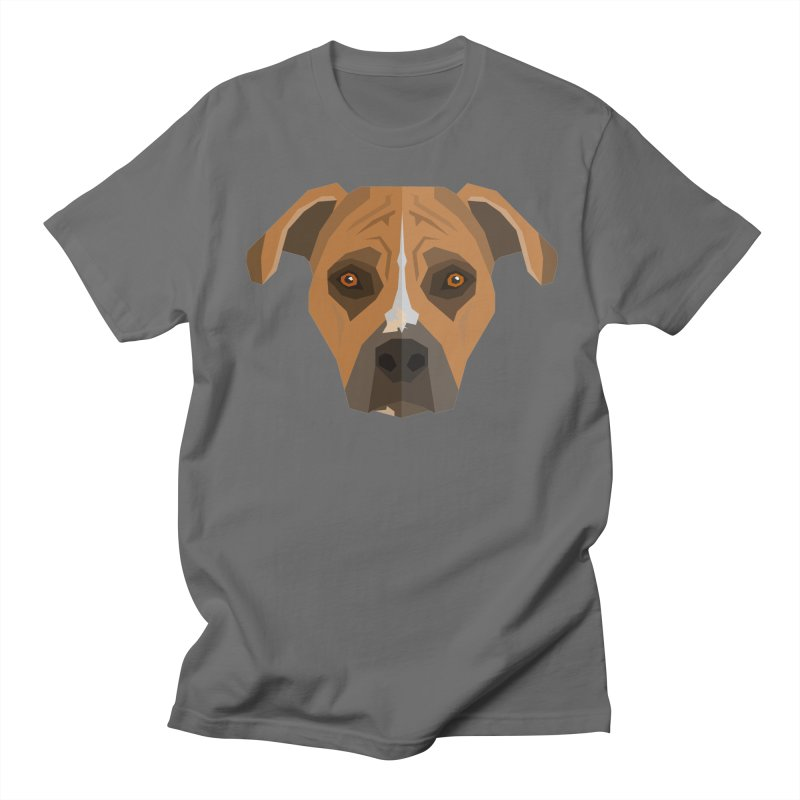 Doggoz Stafford Men's T-Shirt by IamIamI's Artist Shop