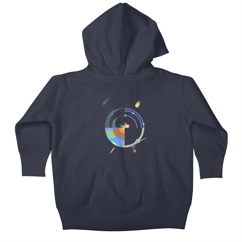 The Circle of life Kids Baby Zip-Up Hoody by IamIamI's Artist Shop