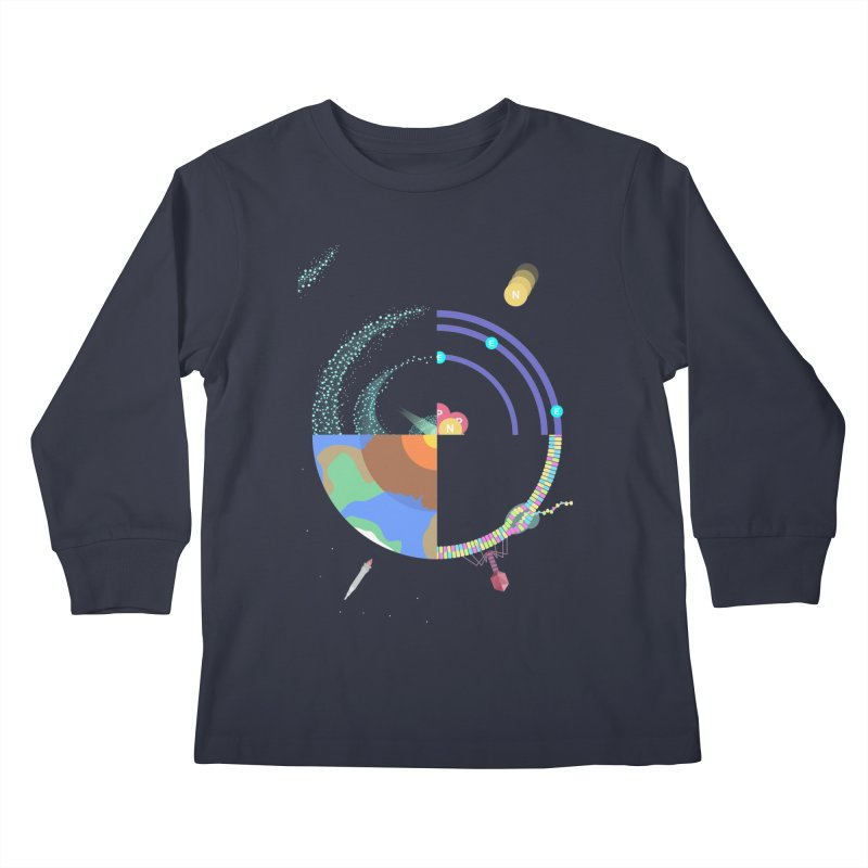 The Circle of life Kids Longsleeve T-Shirt by IamIamI's Artist Shop