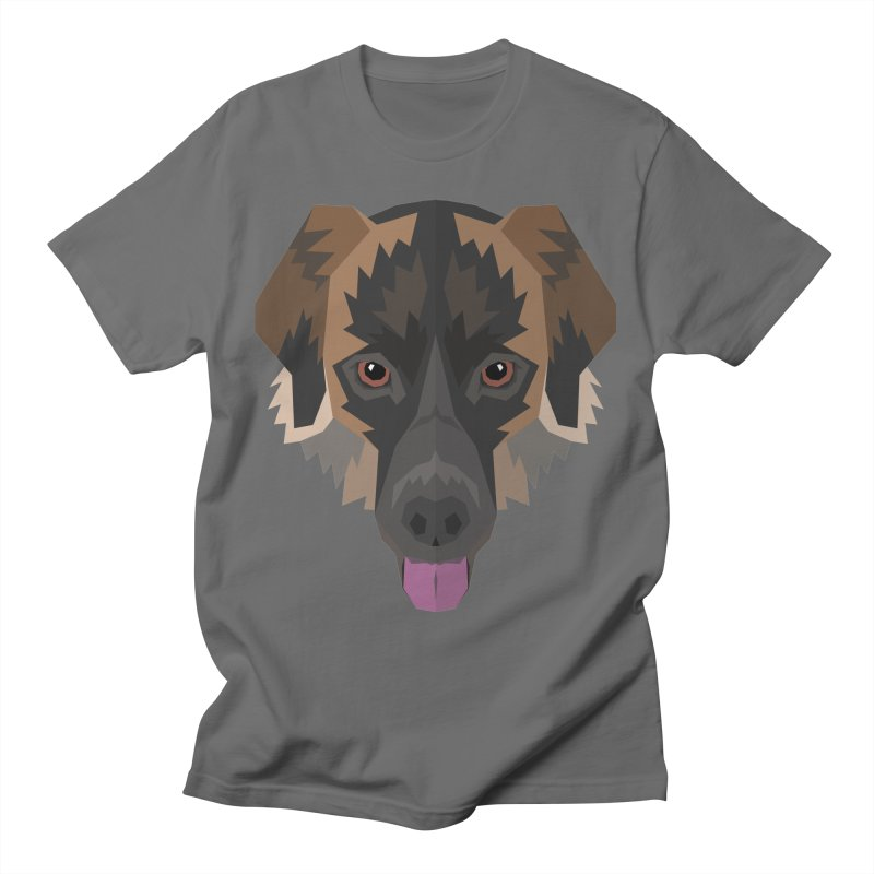 Doggoz Mixedbreed Men's T-Shirt by IamIamI, UAreUareU?