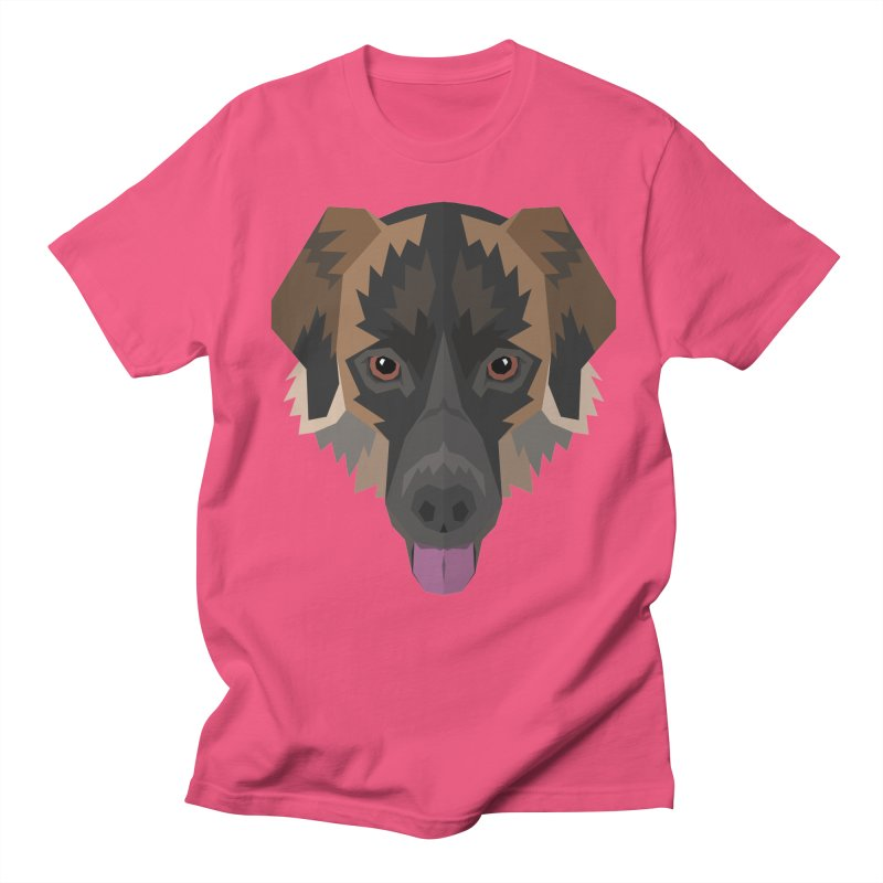 Doggoz Mixedbreed Men's T-Shirt by IamIamI's Artist Shop