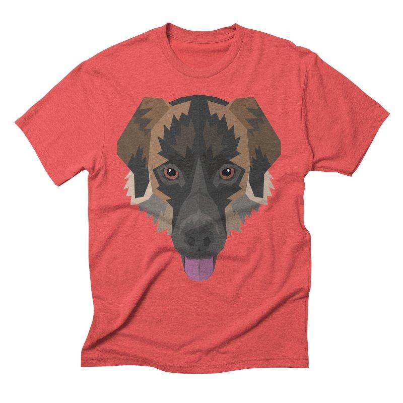 Doggoz Mixedbreed Men's T-Shirt by IamIamI's Artist Shop