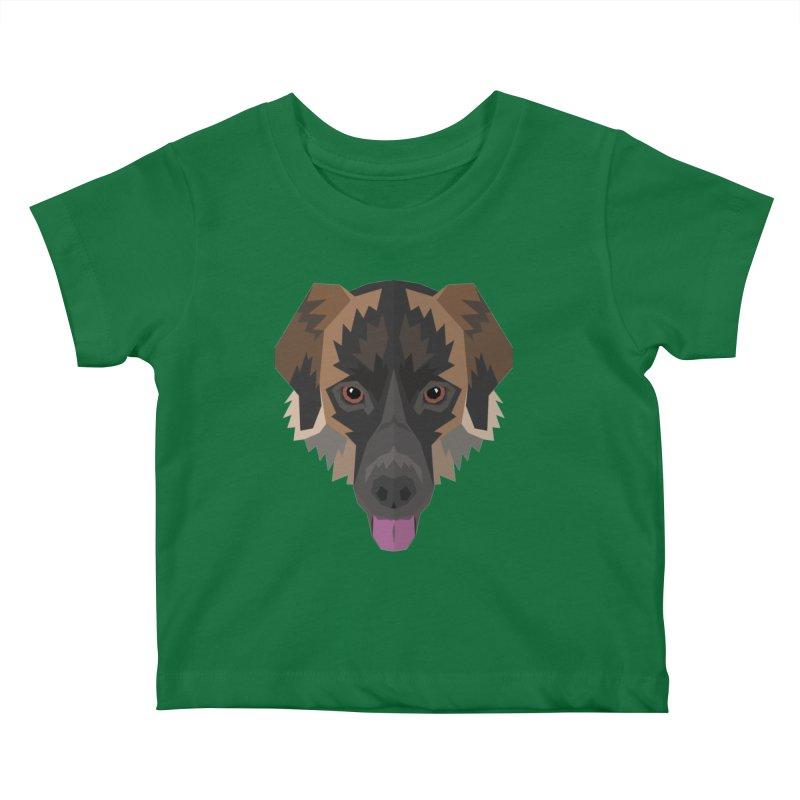 Doggoz Mixedbreed Kids Baby T-Shirt by IamIamI, UAreUareU?