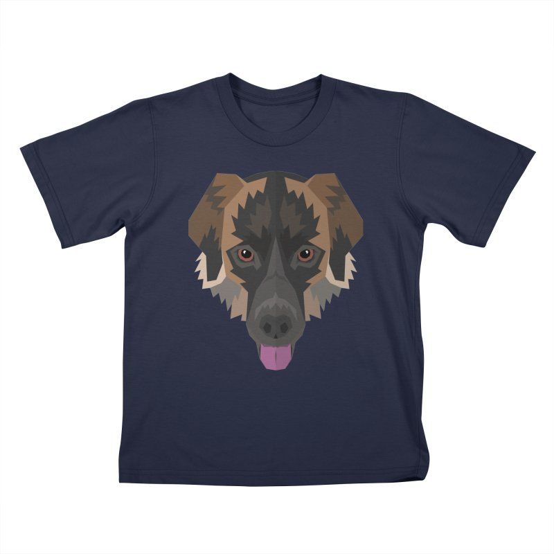 Doggoz Mixedbreed Kids T-Shirt by IamIamI's Artist Shop