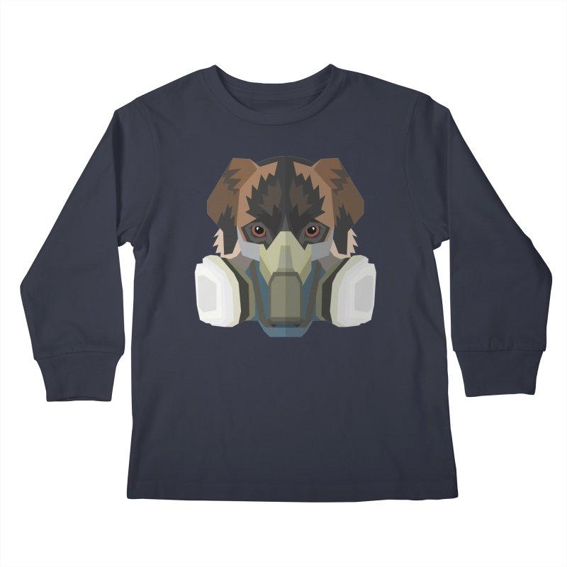 Quarantine Mixedbreed Kids Longsleeve T-Shirt by IamIamI, UAreUareU?