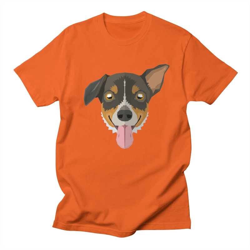 Doggoz Jack Russell Men's T-Shirt by IamIamI's Artist Shop