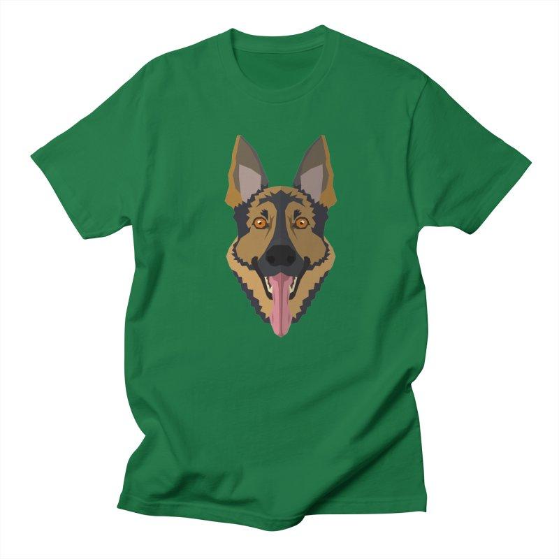 Doggoz German Shepperd Women's T-Shirt by IamIamI's Artist Shop
