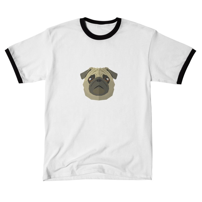 Doggoz Pug Women's T-Shirt by IamIamI's Artist Shop