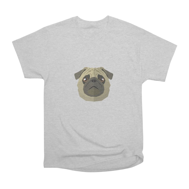 Doggoz Pug Men's T-Shirt by IamIamI, UAreUareU?