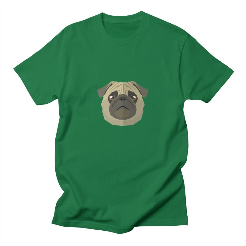 Doggoz Pug Men's T-Shirt by IamIamI's Artist Shop