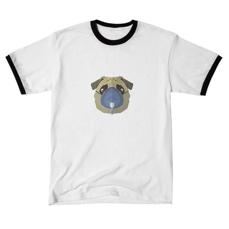 Quarantine Pug Women's T-Shirt by IamIamI's Artist Shop