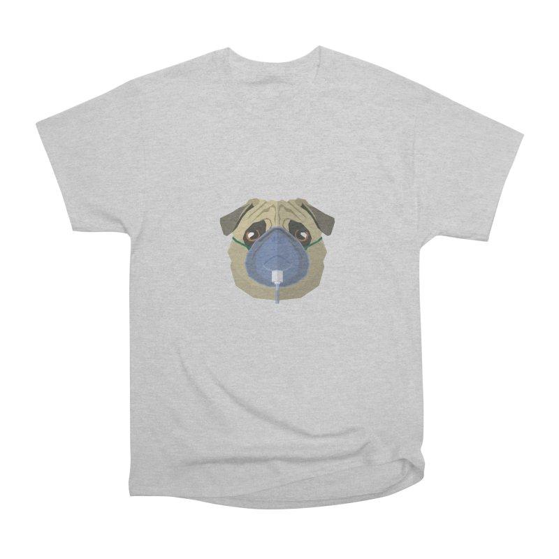Quarantine Pug Men's T-Shirt by IamIamI, UAreUareU?