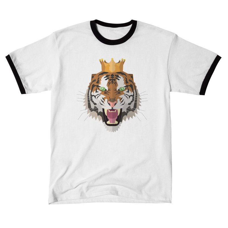 Tiger King Women's T-Shirt by IamIamI's Artist Shop
