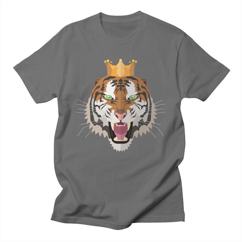 Tiger King Men's T-Shirt by IamIamI, UAreUareU?
