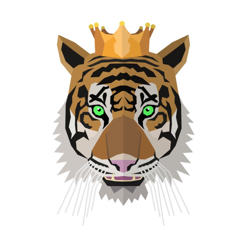 Tiger Prince Men's T-Shirt by IamIamI's Artist Shop