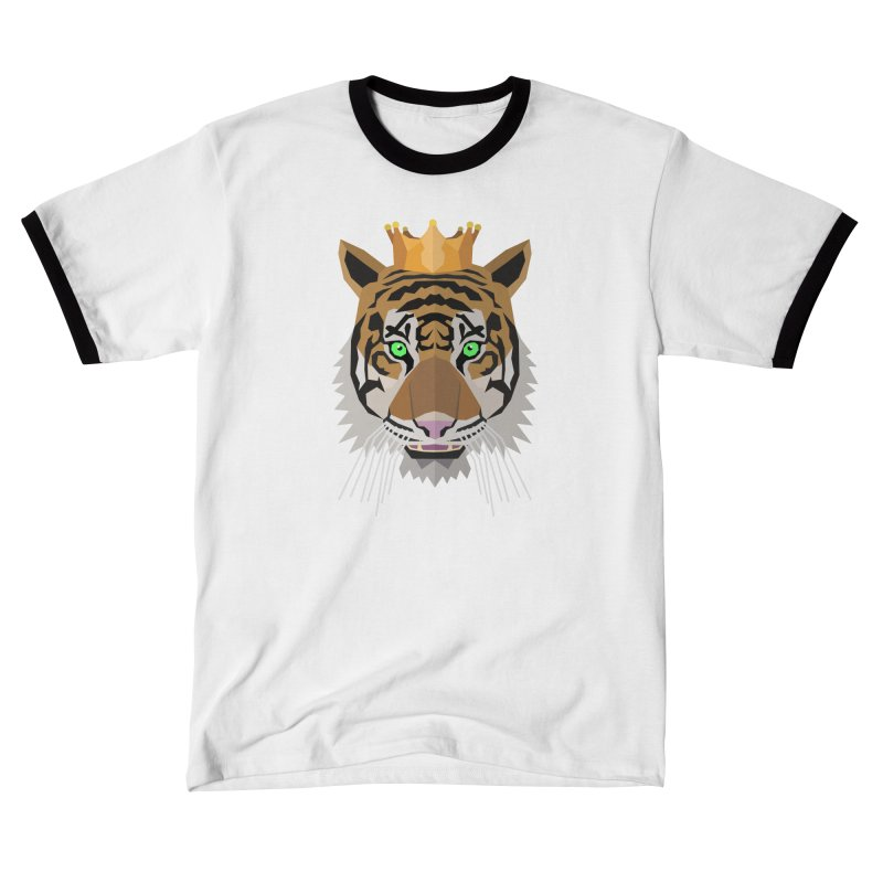 Tiger Prince Women's T-Shirt by IamIamI's Artist Shop