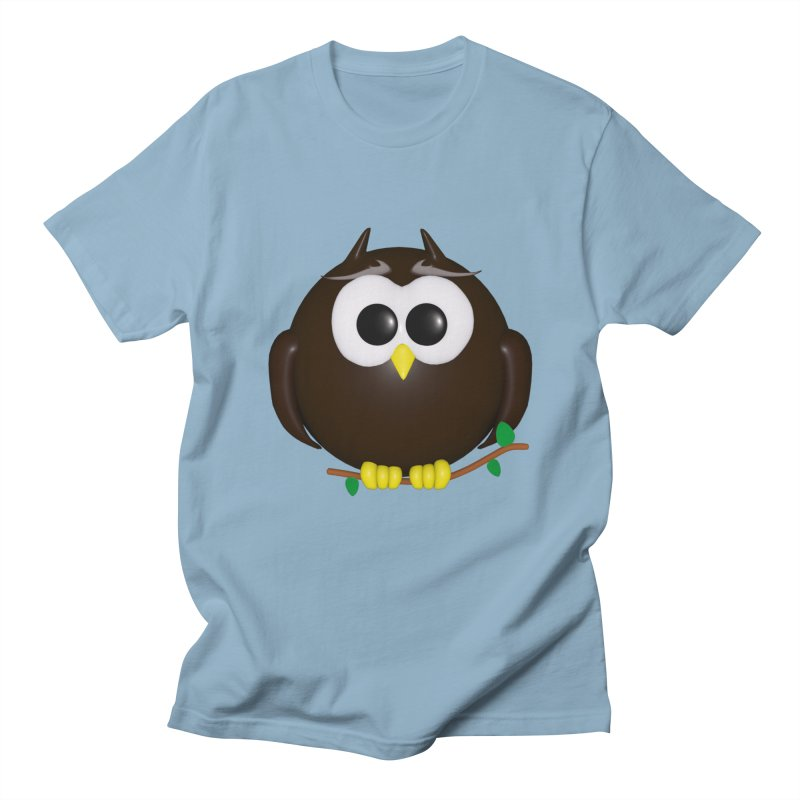 Owl Women's Regular Unisex T-Shirt by Me&My3D