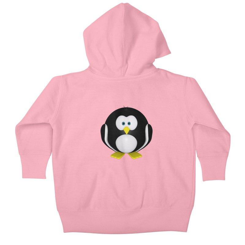 Penguin Kids Baby Zip-Up Hoody by Me&My3D