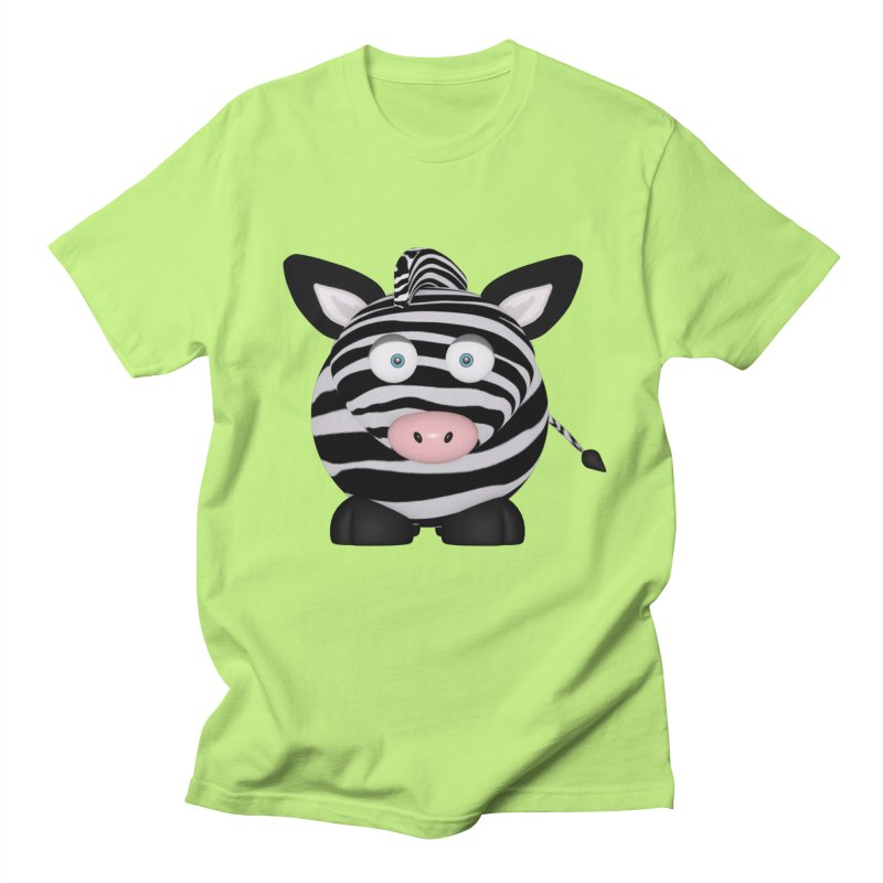 Zebra Women's Regular Unisex T-Shirt by Me&My3D