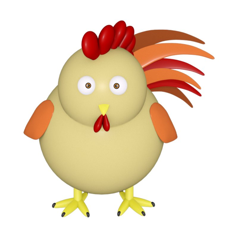 Chicken/Rooster by Me&My3D